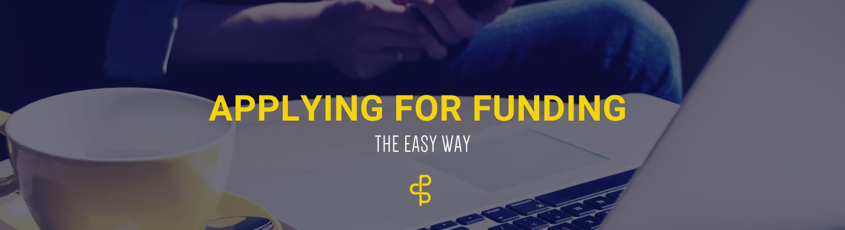 Apply for funding